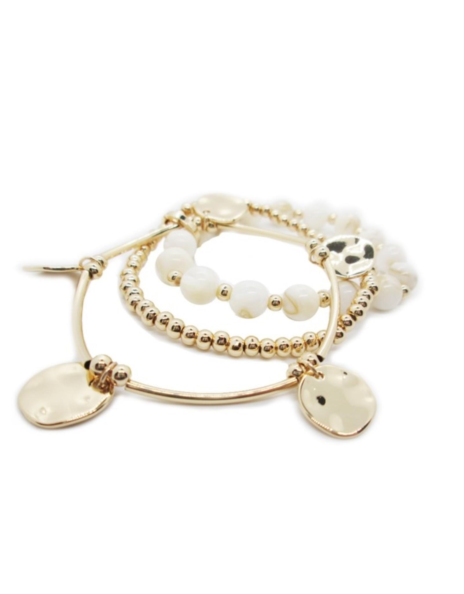 Gold Shell Bracelets