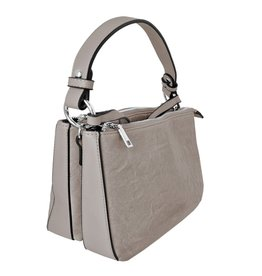 Taupe Handle & Strap Purse