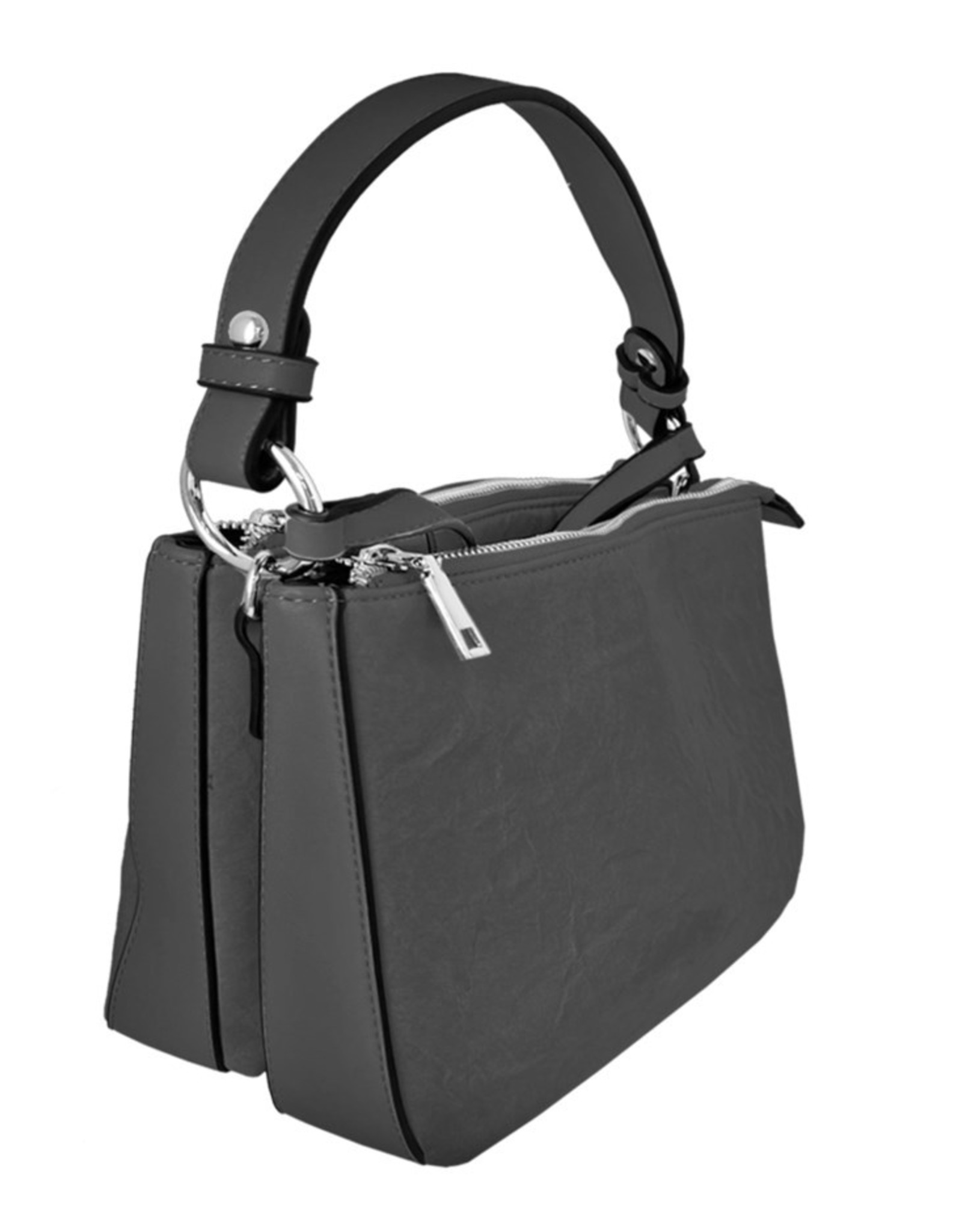 Black Handle & Strap Purse