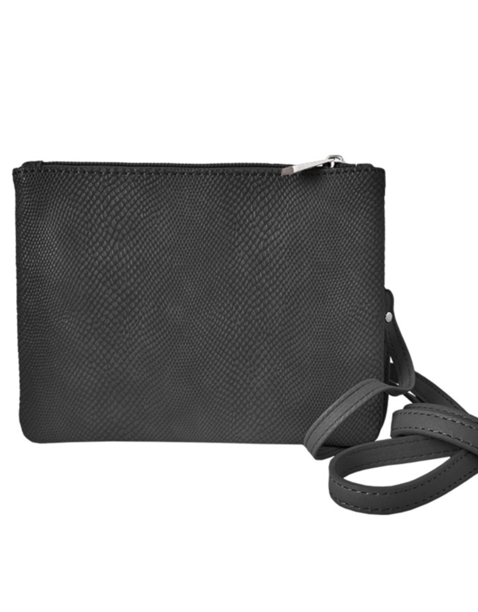 Black Strap & Wrislet Purse