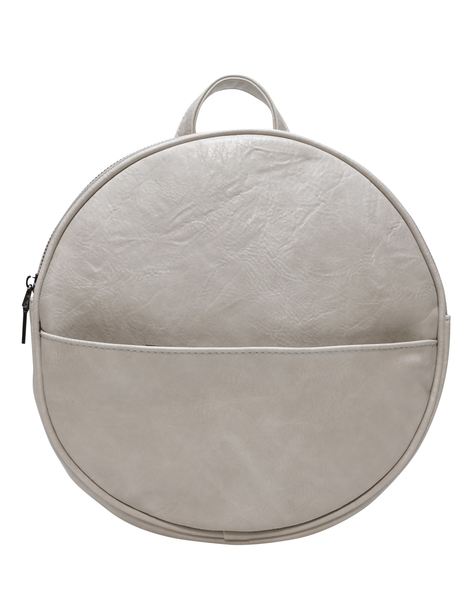 Antique White Jessa Round Convertible Backpack