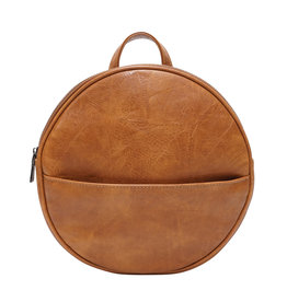 Camel Jessa Round Convertible Backpack