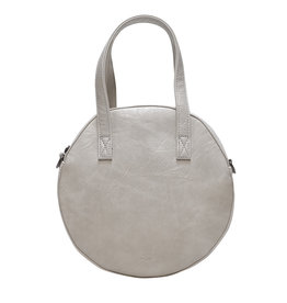Antique White Emmy Round Crossbody