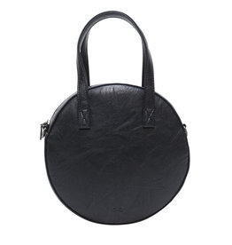 Black Emmy Round Crossbody