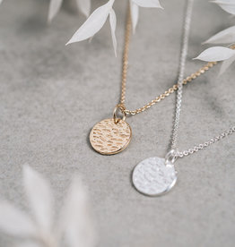 Silver Dearest Necklace