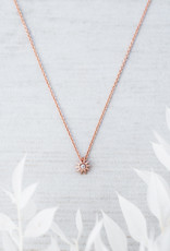 Collier Starburst or rose