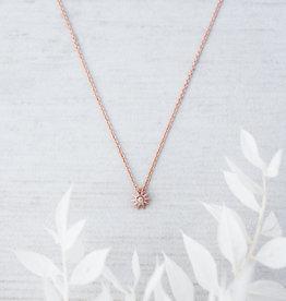 Collier Starburst or rose