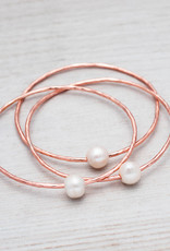 Bracelet Honest or rose et perle