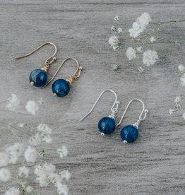 Silver Kyanite Mingle Earrings