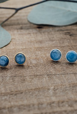 Silver Kyanite Anytime Studs