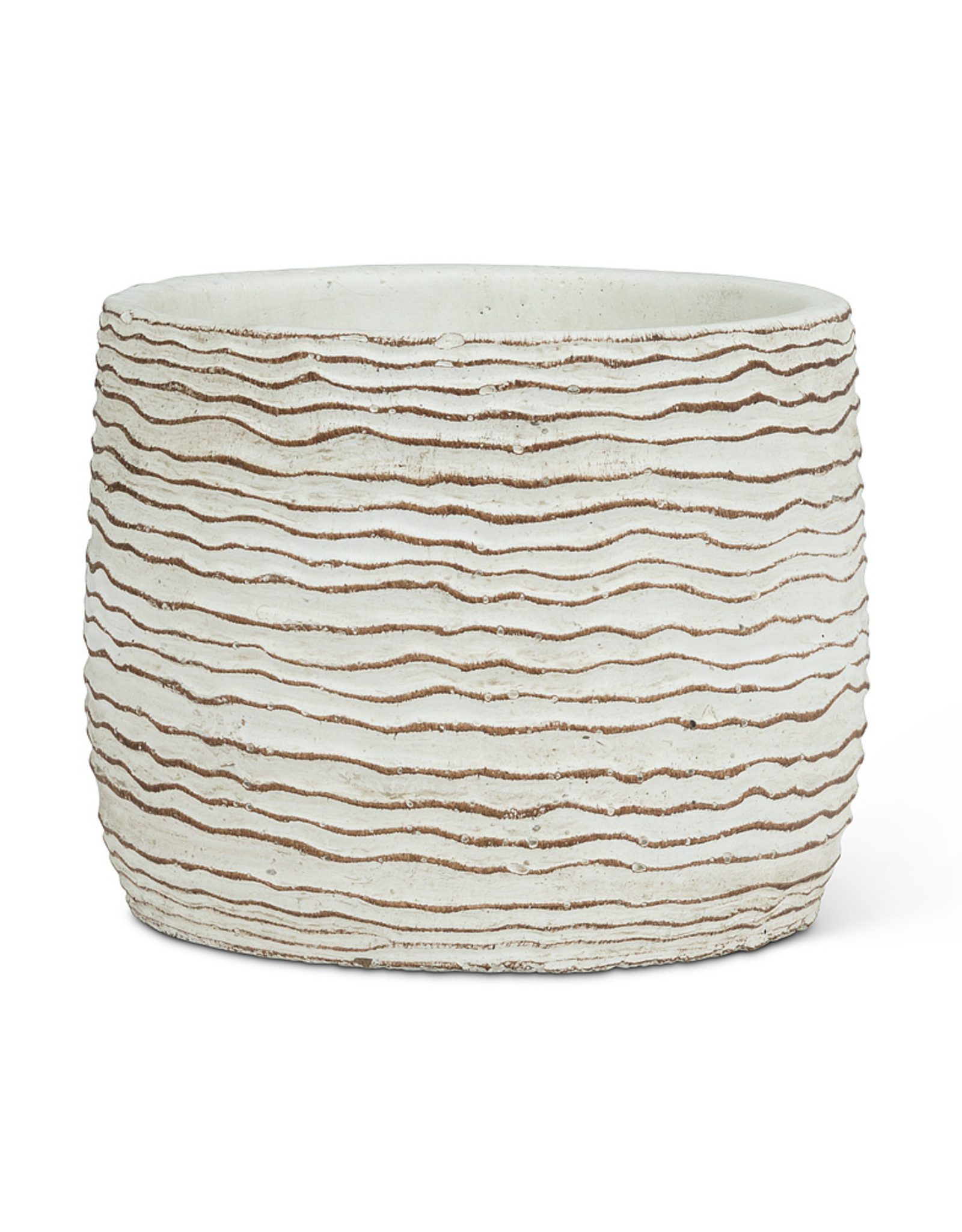 Small Wavy Ripple Planter