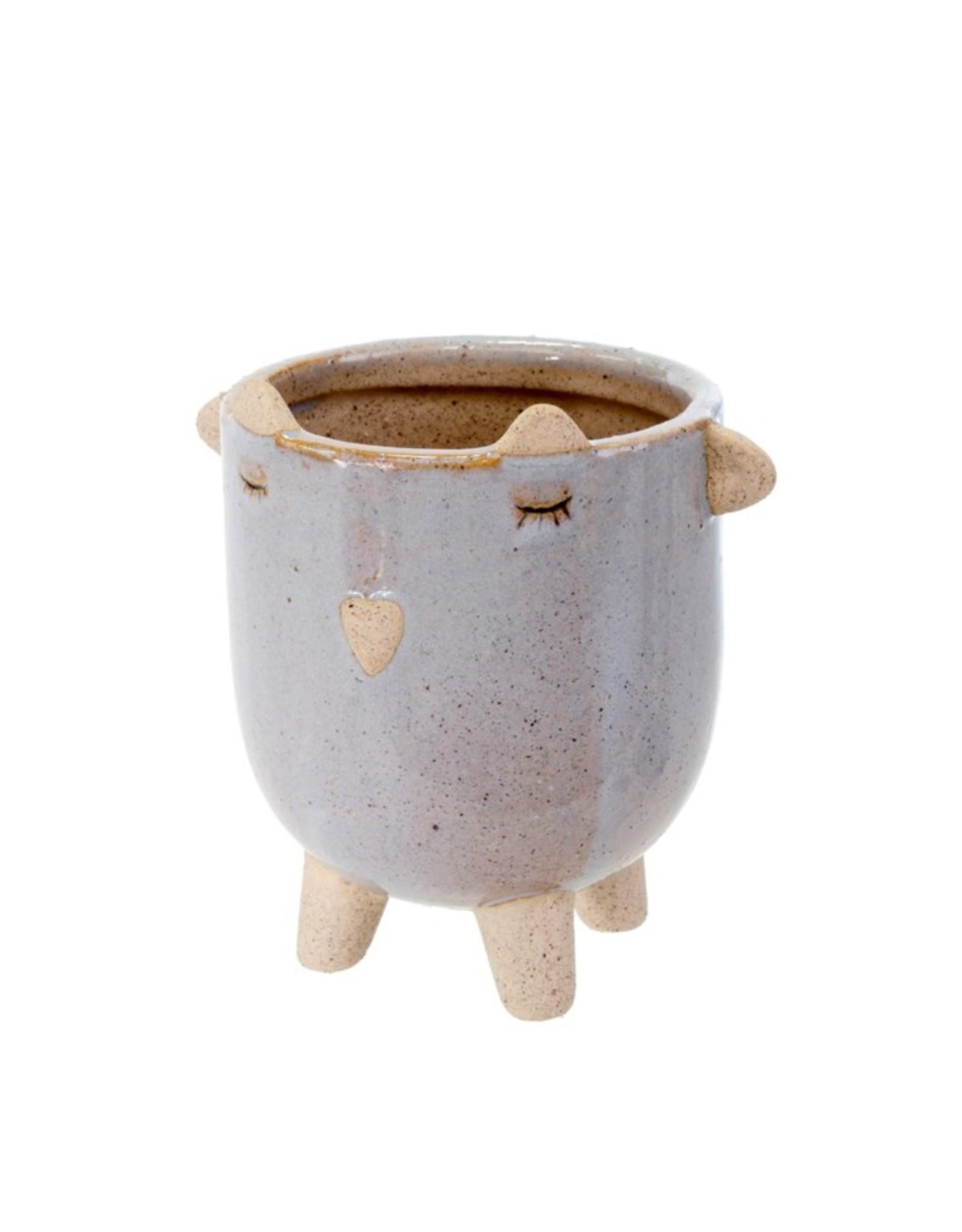 Pot Little Lamb mauve