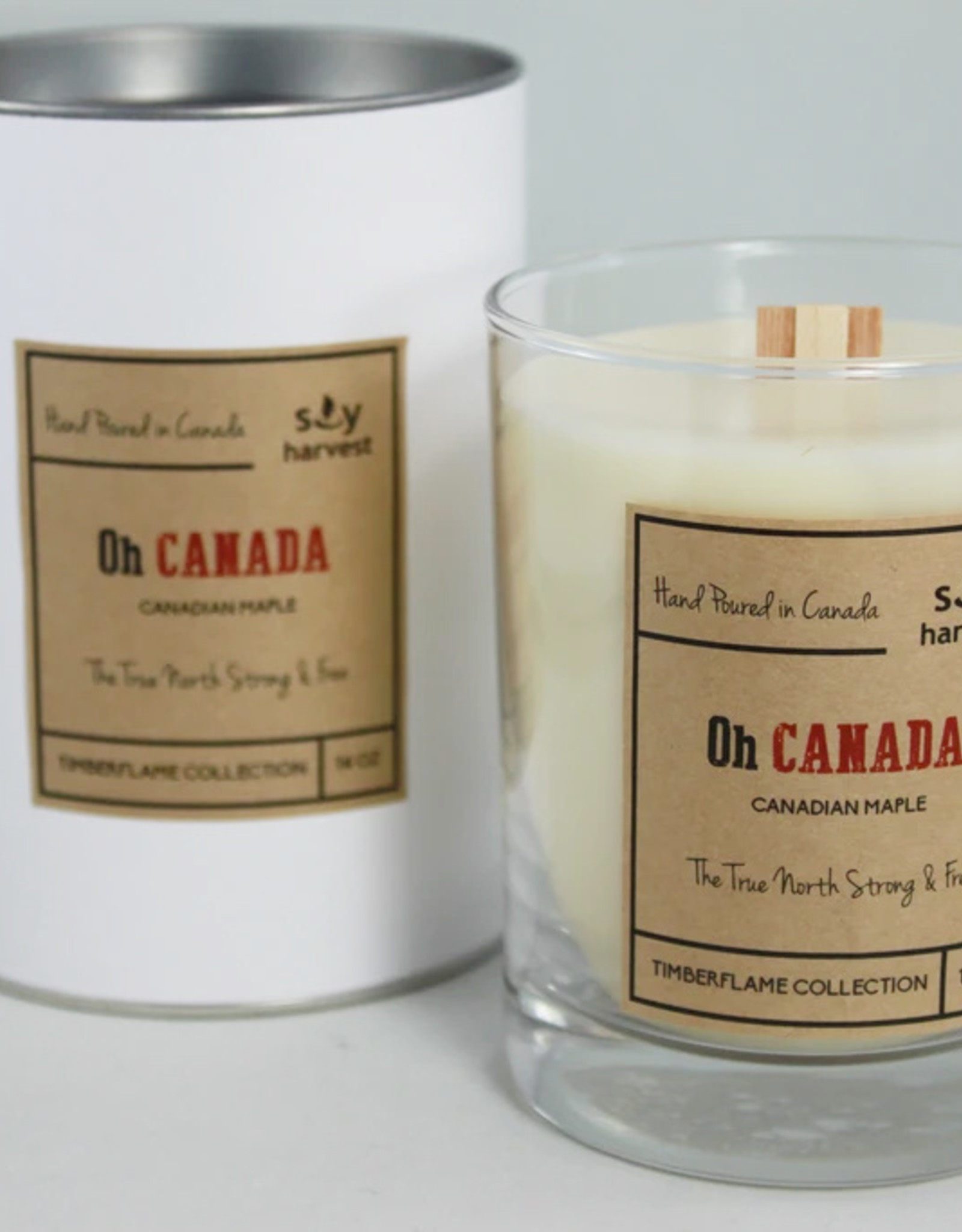 Oh Canada Soy Candle