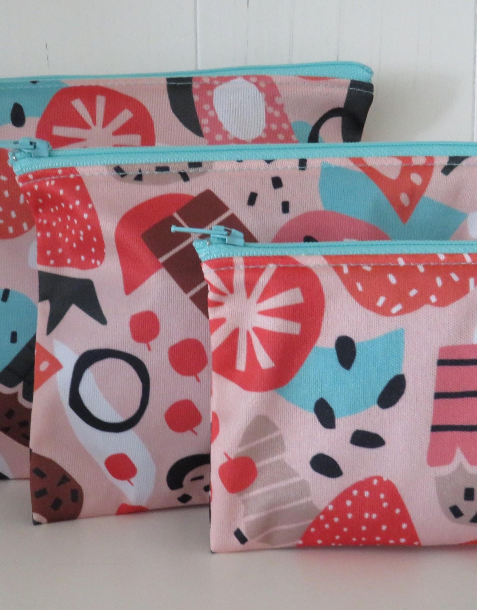 Hubert Cormier - Medium Reusable Snack Bag Pink