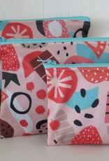 Hubert Cormier - Small Reusable Snack Bag Pink