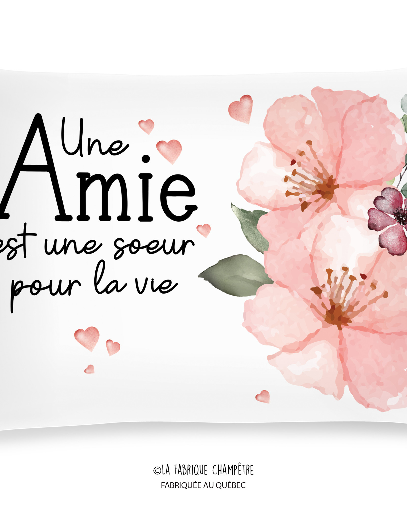 Coussin amie