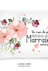 Cushion Marraine (in french only)