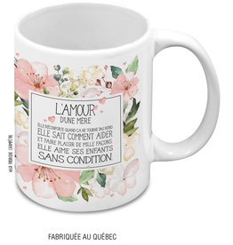 Mug L'amour d'une mère (in french only)