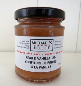 Pear & Vanilla Jam