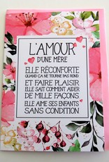 Greeting Card L'amour d'une mère (in french only)