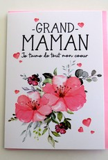 Greeting Card Grand-maman (in french only)