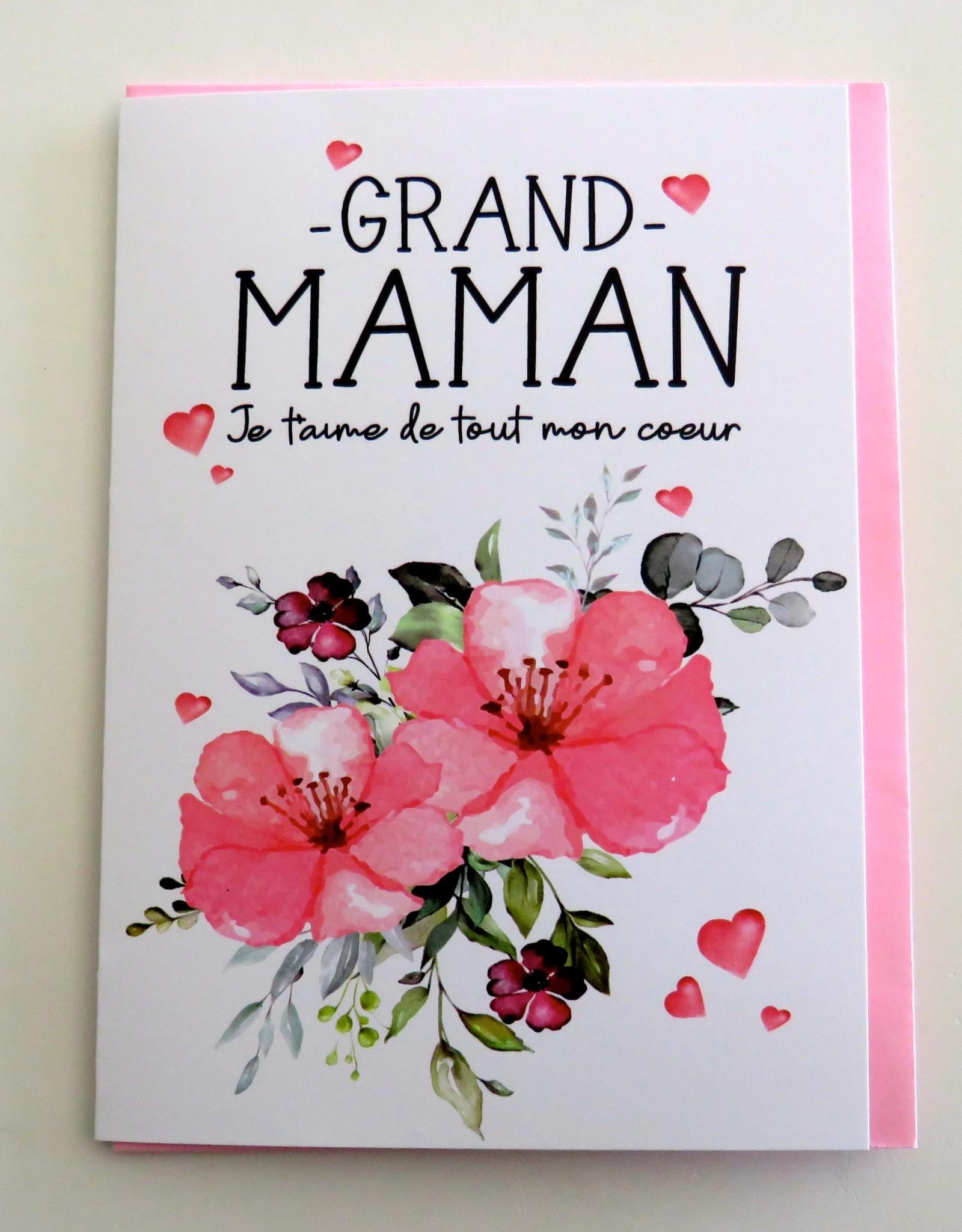 Carte de souhaits Grand-maman