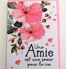 Greeting Card Amie (in french only)