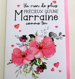 Greeting Card Marraine (in french only)