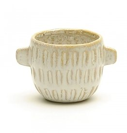 White Pot with Handles (small)