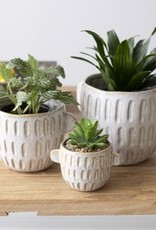 White Pot with Handles (large)