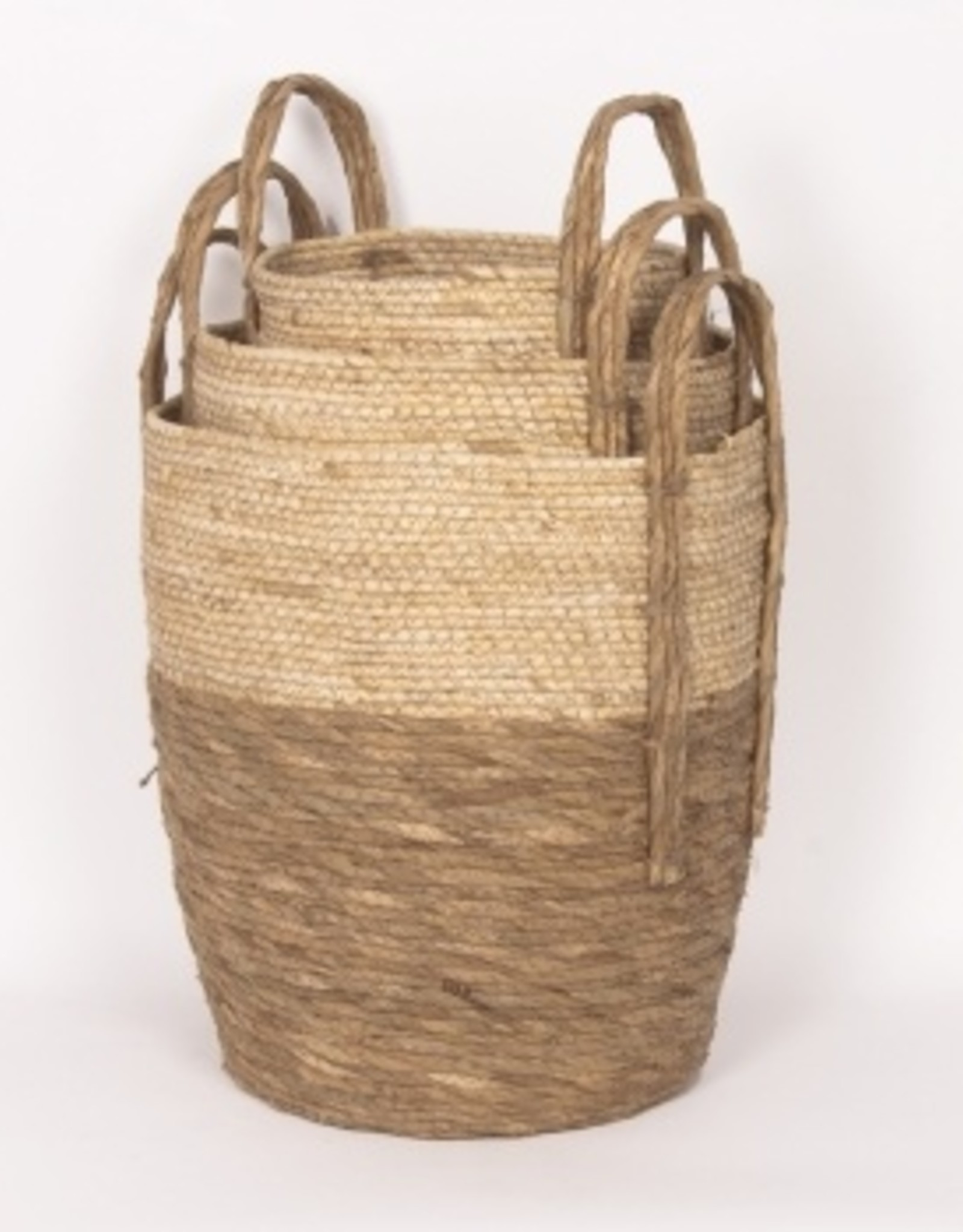 Beige/Natural Straw Basket (small)