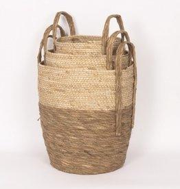 Beige/Natural Straw Basket (medium)