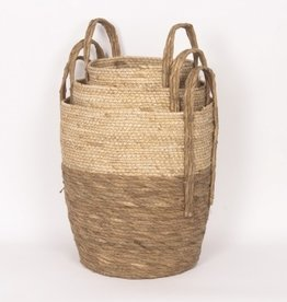 Beige/Natural Straw Basket (large)