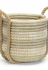 Grass Basket Grey/Wht