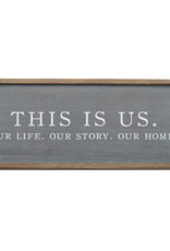 This is Us Wood Plaque