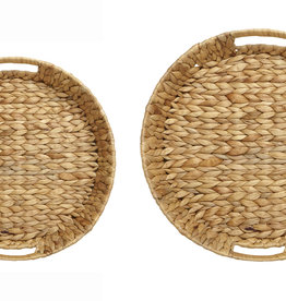Woven Round Tray Large