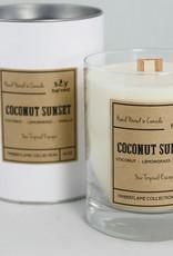 Bougie de soya Coconut Sunset