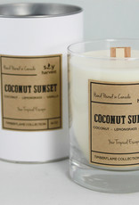 Coconut Sunset Soy Candle