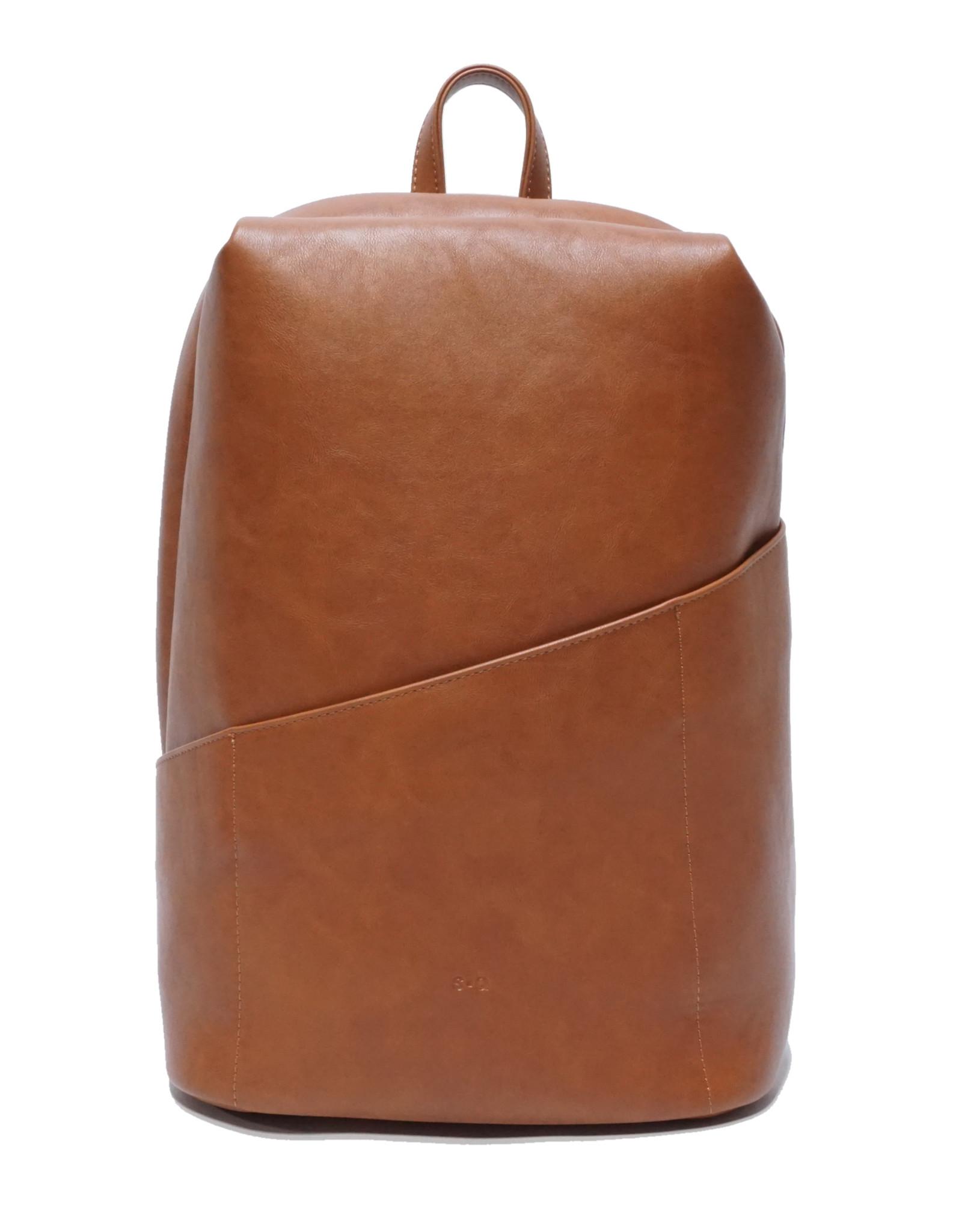 Hayden Travel Backpack-cognac