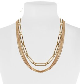 Delicate Chains with Link chain-gold