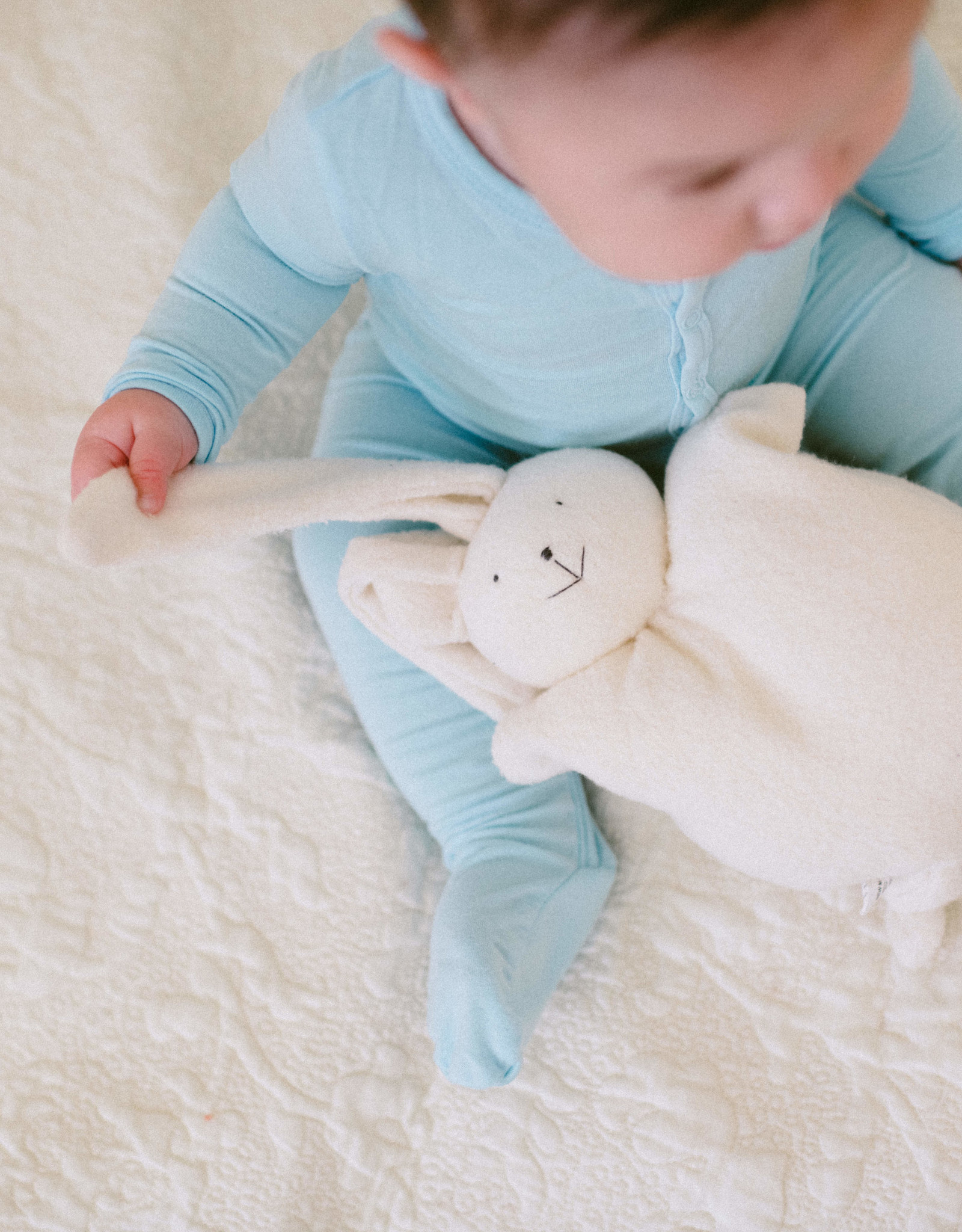 Organic Cotton Cuddly Bunny