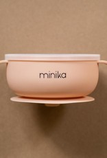Silicone Bowl with Lid blush