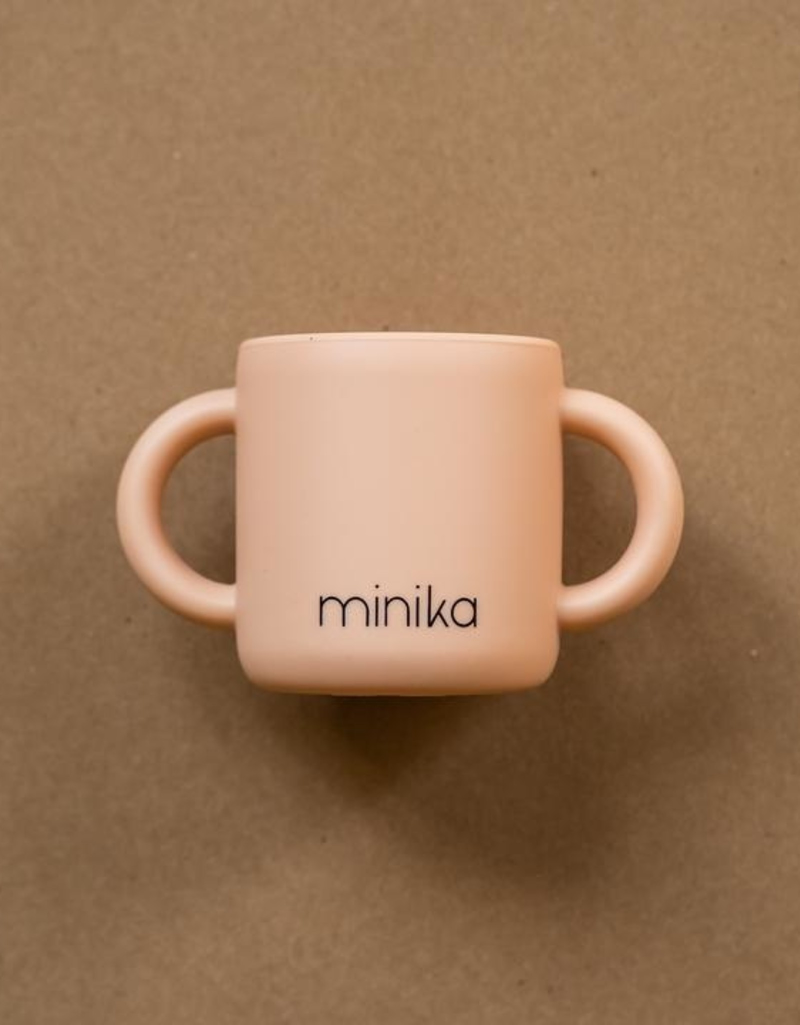 Learning Cup with Handles blush