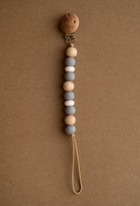 Boho Soother Clip stone