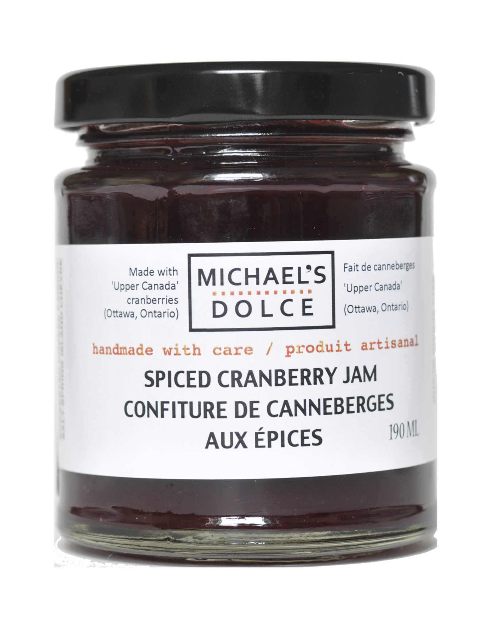 Spiced Cranberry Jam