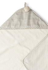 Hooded Towel Pebble Grey