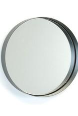 Miroir en métal noir petit