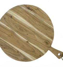 Planche à découper ronde large
