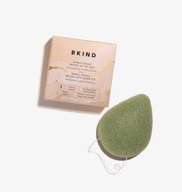 Eponge faciale Konjac infusée au thé vert