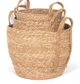 Natural Straw Basket (small)